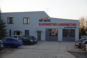 Art Auto - warsztat zewnątrz